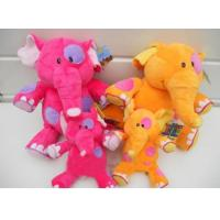 Quality Pink Lovely Elephent Plush Toy for sale