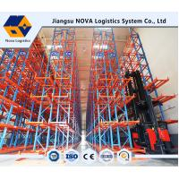China Q235B Steel VNA Pallet Racking With Powder Coated Or Galvanized Surface Treatment on sale