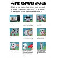China Water Transfer Printing Paper A4 Size(White /Transprant)Water Slide Decal Paper use  inkjet printer on sale