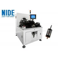 Buy cheap Two Station Semi Auto Armature Balancing Machine , Rotor Industrial Balancing from wholesalers