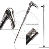China Vulture Head Custom Made Walking Canes With 440 Stainless Steel Blade on sale