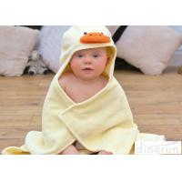 China Cute Duck Bath Towel , Kids Baby Bath Towel With Hood Various Colors on sale