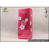 Buy cheap Rectangle Paper Packaging Boxes For Facial Sheet Mask / Personal Skin Care from wholesalers