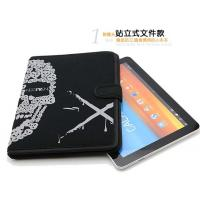 China Mens Magnetic Neoprene Tablet Sleeve 10 inch , iPad Protection Cover Stand Style on sale