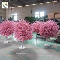Best UVG 4ft cheap artificial trees with fake peach blossoms for wedding table center pieces wholesale