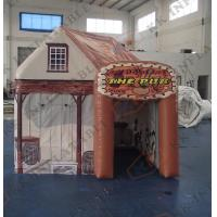 China Mobile Inflatable 6 person Tent pub hire / inflatable family tent on sale