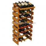 Best Custom Wine Display Stand Wine Shop Retail Advertising Wood Floor Wine Rack wholesale
