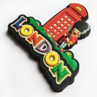 Quality Souvenir Gift Personalised Fridge Magnet Customized Shaped Soft PVC Material for sale