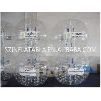 China Inflatable Bubble Ball Giant Human Sized Body Bubble Soccer Ball Suit on sale