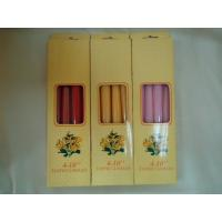 Best Clean burning wedding decorations candles, 10 inch taper wholesale