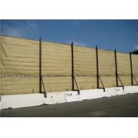 China Temporary Acoustic Barriers Cut Edge for for 6' x 12' chain link fence panels on sale
