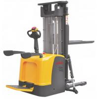 Quality Straddle Pallet Electric Stacker Truck High Performance 6.5m Lift Height for sale