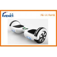 Buy cheap Fast Motorized Scooter Board 2 Wheeled Self Balancing Electric Vehicle with LED light from wholesalers