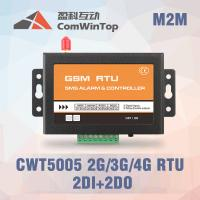 China CWT5005B Industrial GSM RTU Controller SMS Alarm With 2Di 1 Relay Output on sale