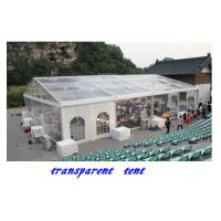 Buy cheap 15x40m 600 People Transparent Canopy Tent for Sale,clear span tent from wholesalers