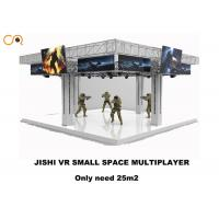 Quality 4 Players 360 Degree Virtual Reality Simulator With Vr Shooging Games  / 43 Inch Screen for sale