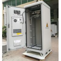 """Quality 40U 19"""" Thermostatic Sandwich Outdoor Telecom Cabinet With Emerson Power System, Monitoring Unit for sale"""