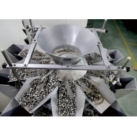 China 1.6L 10 Head SUS 304 Multi Head Weigher For Hardware for sale
