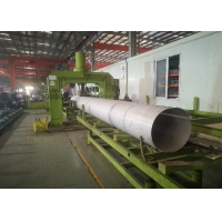 Quality 405mm ERW Pickled Stainless Steel Welded Tubes for Superheater for sale