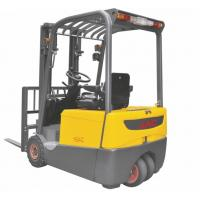 Quality Smaller Turning Radius Electric Powered Forklift 1.8 Ton Three Wheel For Warehouse for sale