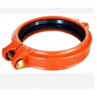 Quality ANSI Standard DN200 Ductile Iron Grooved Pipe Fittings Coupling for sale