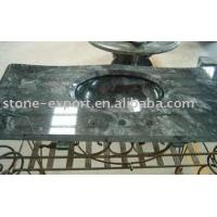 Quality stone vanity tops , Golden granite vanity tops ,Bathroom travertine vanity  ,granite bathroom vanity tops for sale