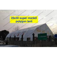 Quality Heat Resistant TFS Tent Easy Assembled With Inflaming Retarding White PVC Fabric for sale