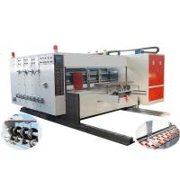 Quality Automatic Flexo Printing Slotting Machine, Automatic Lead-edge Feeding, High-speed for sale
