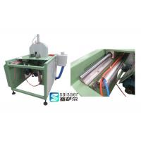 Quality Reliable 1.5Kw Blade Lift Plastic Pipe Cutting Machine 2800rpm Blade Speeding Cycling for sale