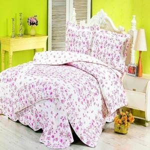 Quality Floral Bedding set four pcs for sale
