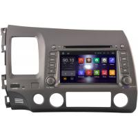 Quality Left Side Honda Civic DVD Player With GPS Navigation 2006 - 2011 Steering Wheel Control for sale