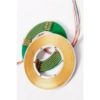 Best 4 Circuits Signals Transferring Electrical Slip Ring Connectors 60mm Bore For Rotary Tables wholesale