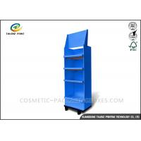 Quality Fashion Cardboard Display Stands Collapsible Type For Mobile Accessories for sale