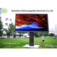 Best high brightness 1/8 scan  p6  192mm x192mm outdoor full color led display for advertising wholesale