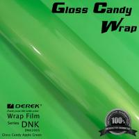 Quality Gloss Candy Lime Green Vinyl Wrap Film - Gloss Lime Green for sale