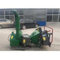 Quality Hydraulic 5 Inch Wood Chipper 3 Point Hitch 30 - 70 HP With 4 Reverse Blades for sale