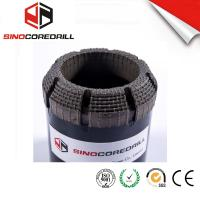 Quality Face Discharge Natural Diamond Core Bit HQ3 Surface Set Drill Bits for sale