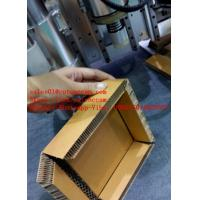 Quality Cardboard Honey Cell Sandwich Paper Board CNC V Straight Knife Cutting Machine for sale