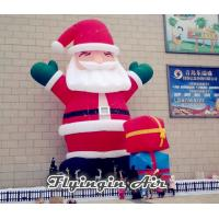 China Giant Decorative Inflatable Christmas Santa Claus for Outdoor Decor on sale