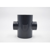 Quality 315mm Size UPVC Reducing Cross PE100 Fittings Corrosion Resistant for sale