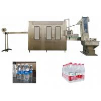 Quality Mineral Water PET Bottle Rising Capping Beverage Filling Machine for sale