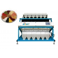 China Wheat Grain Nut Seed Color Sorter Machine with SMC Ejector and Advanced Software for sale