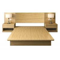 Quality Easy To Clean Commercial Hotel Furniture , E1 MFC Board Health Apartment Bed for sale