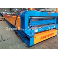Quality PLC Control Double Layer Roof Sheet Forming Machine With Cr12 Blade for sale