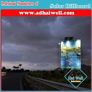 Best Hot-DIP Galvanized Steel Billboard Solar Advertising wholesale
