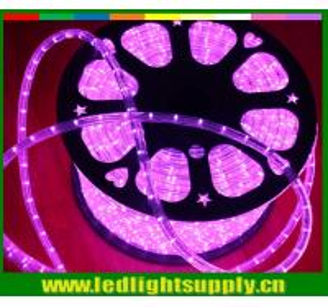Best 10mm 2 wire pink christmas decorative light led rope flex lights wholesale