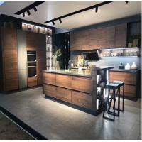 Buy cheap Walnut kitchen cabinet,handleless kitchen cabinet,kitchen cabinets direct from china,countertops kitchen from wholesalers