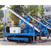 Buy cheap 0~ 90 ° Hydraulic Crawler Deep Foundation Pit Anchor Drilling Rig from wholesalers