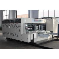 China Automatic Carton Making Machine , Slotting And Die Cutting Equipment on sale