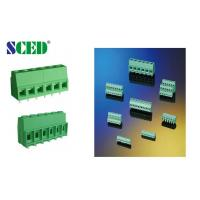 Buy 300V 57A PCB Terminal Block 10.16mm Screw Clamp Terminal Connection at wholesale prices